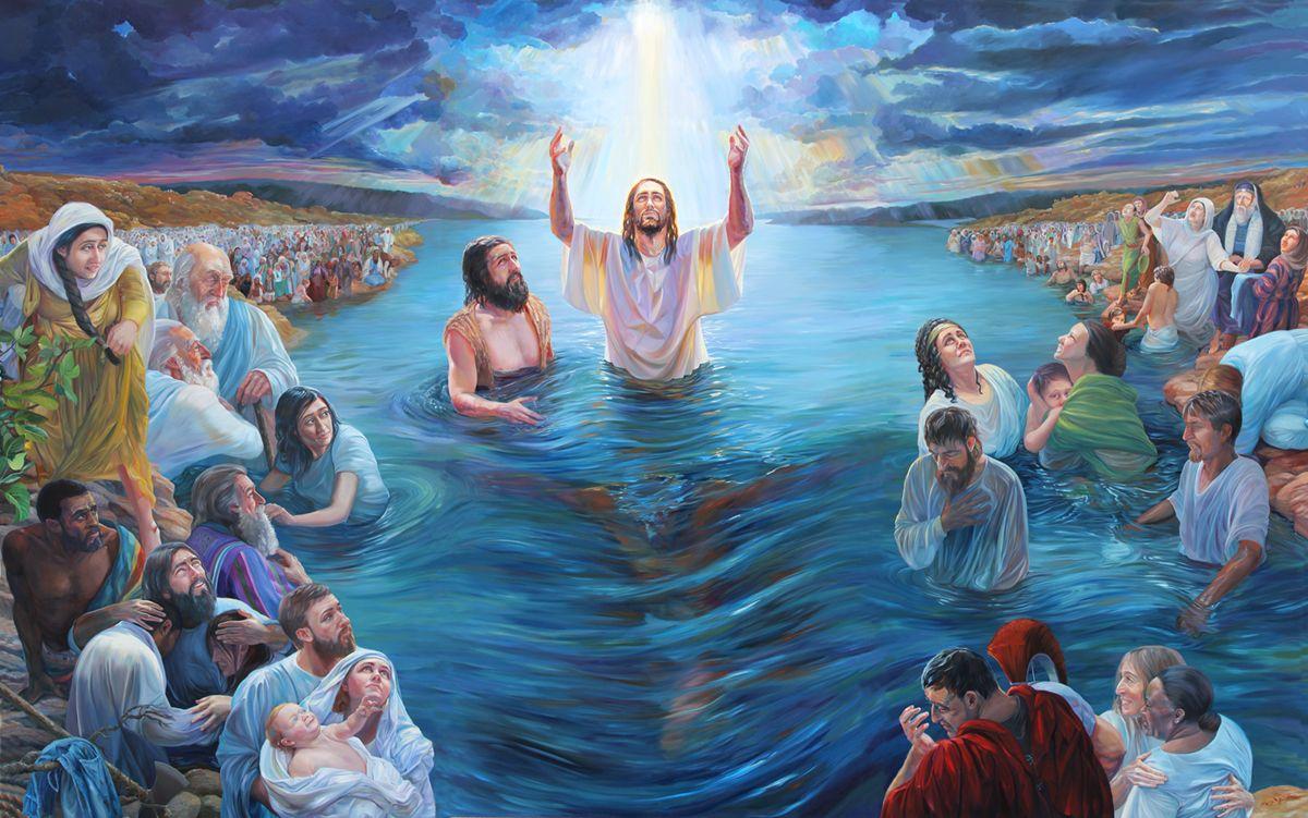 BOTEZUL BIBLIC IN APA ESTE O MARTURIE A UNUI CUGET CURAT INAINTEA LUI DUMNEZEU SI INAINTEA OAMENILOR