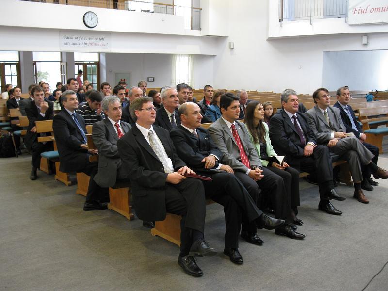 TITUS CORLATEAN A PARTICIPAT LA DESCHIDEREA ANULUI UNIVERSITAR 2009-2010 INSTITUTUL TEOLOGIC TIMOTHEUS