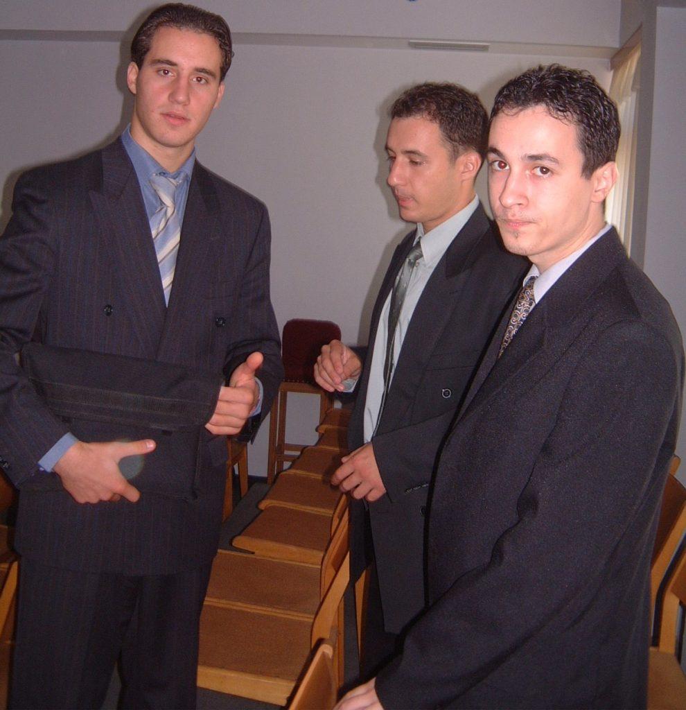 MISI, DANUT, ANDREI - BISERICA CRESTINA DUPA EVANGHELIE ANTIOHIA BUCURESTI - 28 SEPTEMBRIE 2003