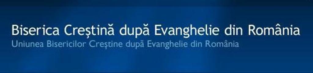UNIUNEA BISERICILOR CRESTINE DUPA EVANGHELIE