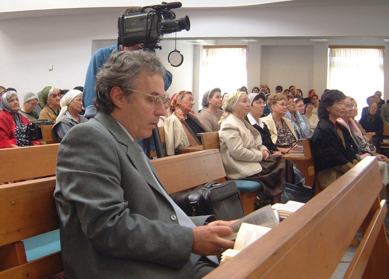 DAVID CIUCUR IN BISERICA CRESTINA DUPA EVANGHELIE ANTIOHIA - 28 SEPTEMBRIE 2003