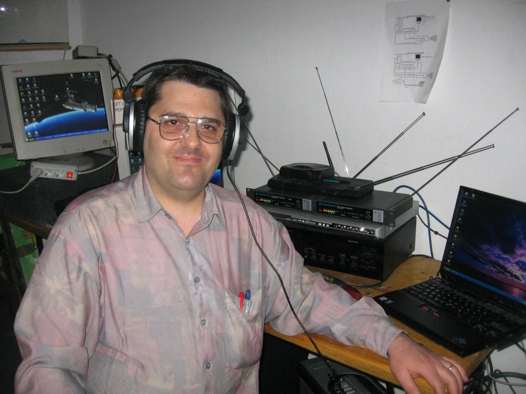 FOSTA CAMERA DE CONTROL SUNET LUMINI A BISERICII ANTIOHIA - 5 APRILIE 2008
