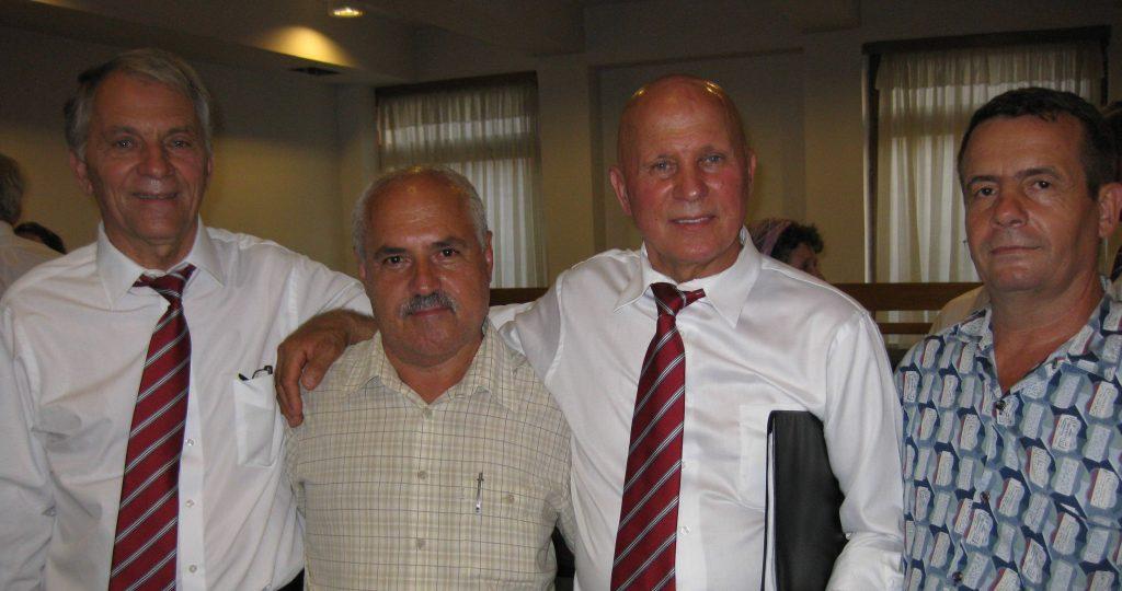 FRATII NEAGU IN BISERICA CRESTINA DUPA EVANGHELIE ANTIOHIA DIN BUCURESTI 20 IULIE 2012
