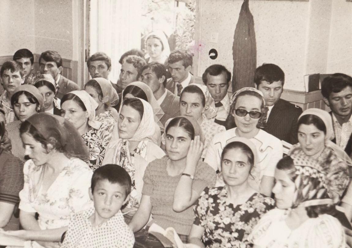 CORISTII DIN VECHEA BISERICA CRESTINA DUPA EVANGHELIE DRAGOS VODA BUCURESTI 30 MAI 1976