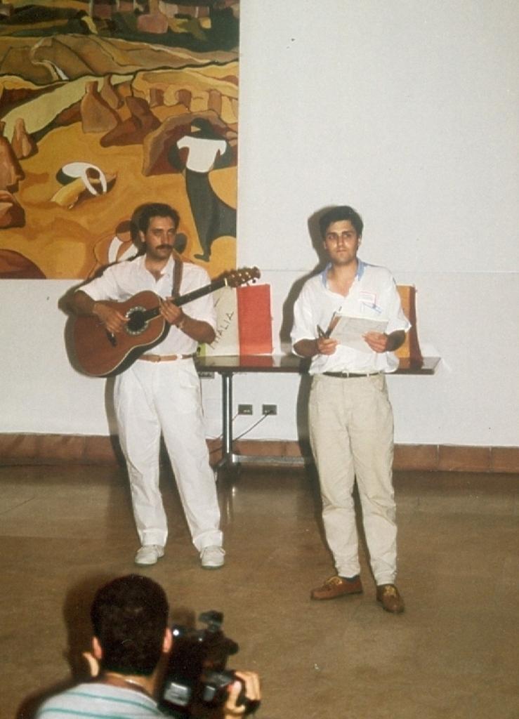 TANAR CRESTIN EVANGHELIC ROMAN PREZINTA PROGRAMUL SERATEI MUZICALE LA POGGIO UBERTINI IN ITALIA 1990