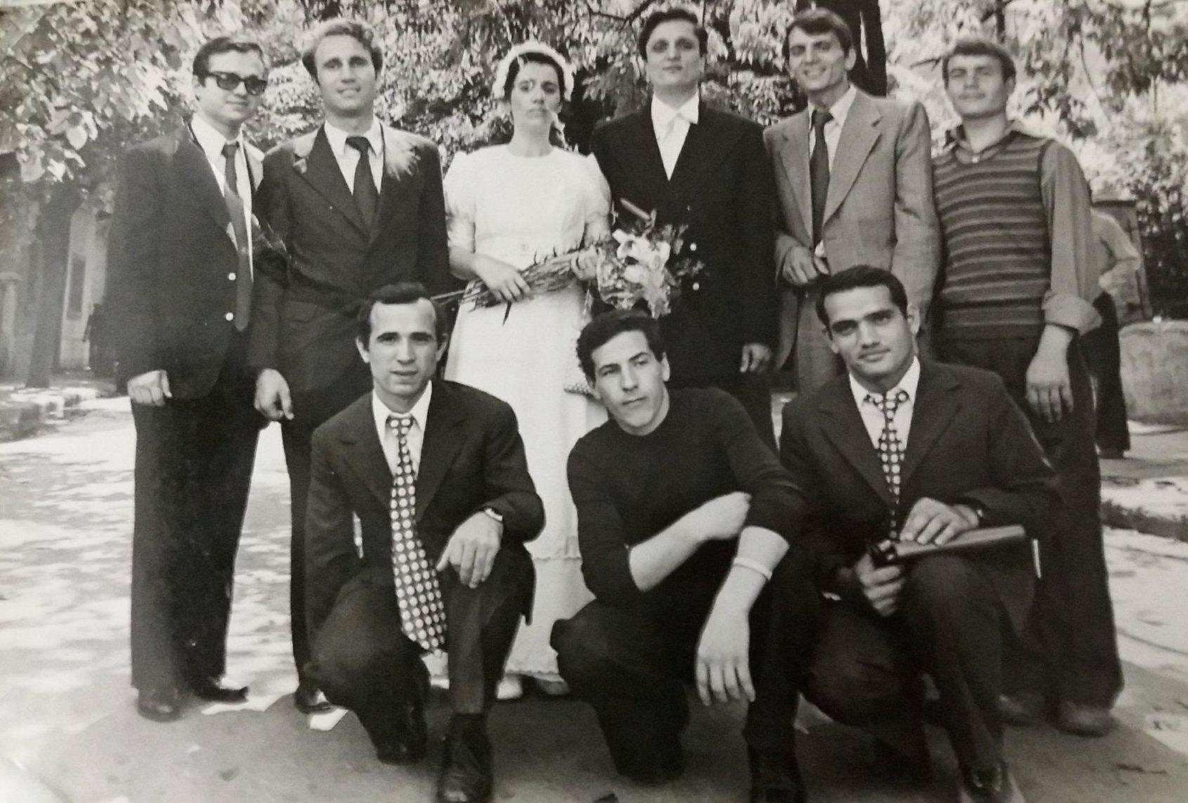 LIVIU GIUROIU, NELU BLONDU SCARLATACHE, REMI ȘI STELA GIUROIU, VIOREL NEAGU, DAMIAN CIUBUC, EUGEN LUPU, EUGEN CÂRLESCU, VASILE CHIRILĂ ÎN 1978