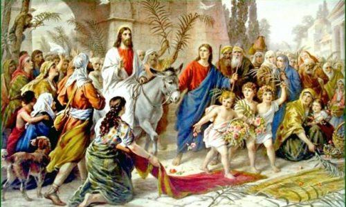 VALENTIN GIUROIU – INTRAREA DOMNULUI HRISTOS ÎN IERUSALIM