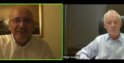 VIRGIL ACHIHAI ȘI PETER COSTEA ÎNTR-UN DIALOG DESPRE NECESITATEA IMPLICĂRII CREȘTINILOR ÎN VIAȚA POLITICĂ A ROMÂNIEI